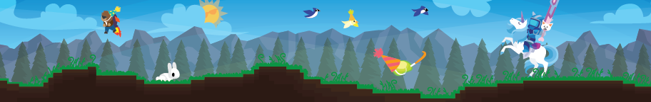 Terraria Week Blog Header